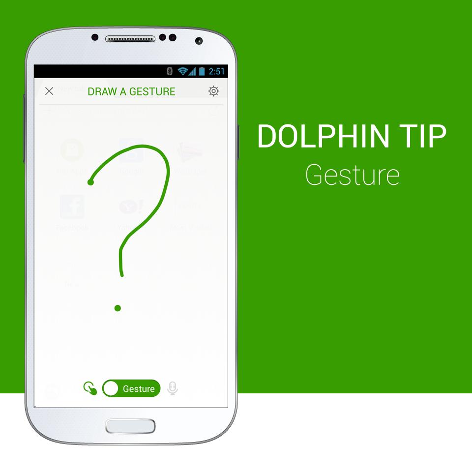 Dolphin-Tip_Gesture