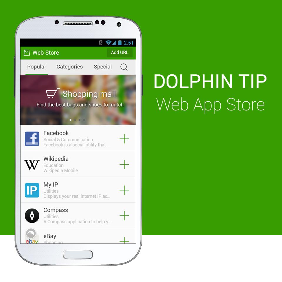 Dolphin-Tip_WebAppStore