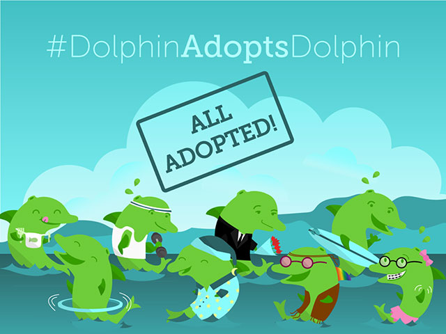 Dolphin Browser Adopts 8 Real Dolphin