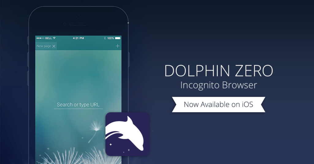 Dolphin Zero Incognito Browser for iOS is private, lightweight, and lightning fast.