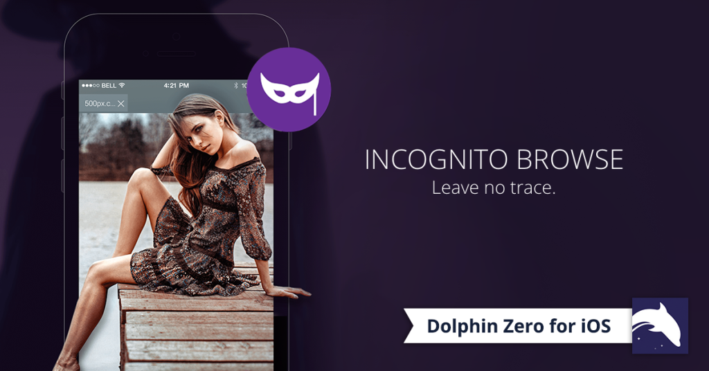 Dolphin Zero Private Incognito Browser for iOS