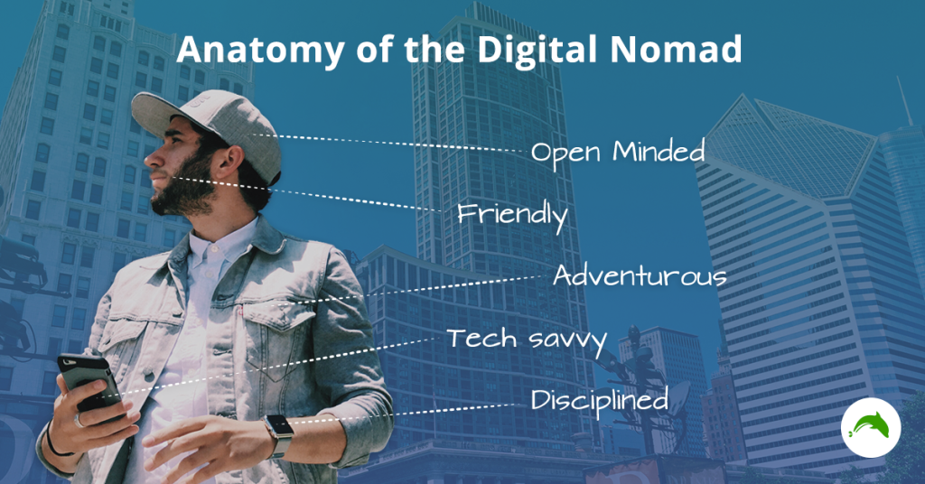 Anatomy of the digital nomad