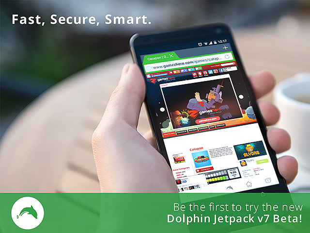 Download Dolphin Jetpack Beta for Android: 25% Faster, FREAK Bug Free, WebGL Gaming, Outstanding HTML5 & Flash Support