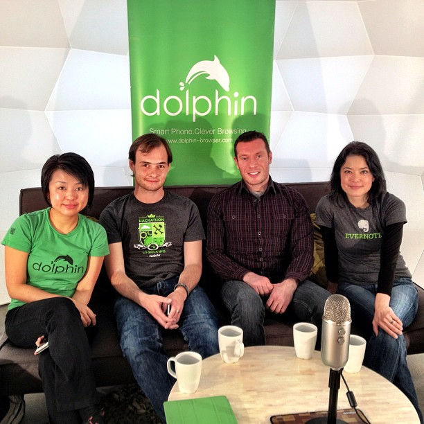 Livestream chat with our friends from Evernote!