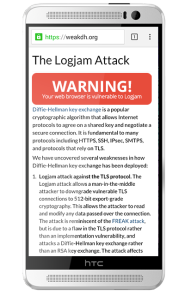 Some Android browsers are leaving users vulnerable.