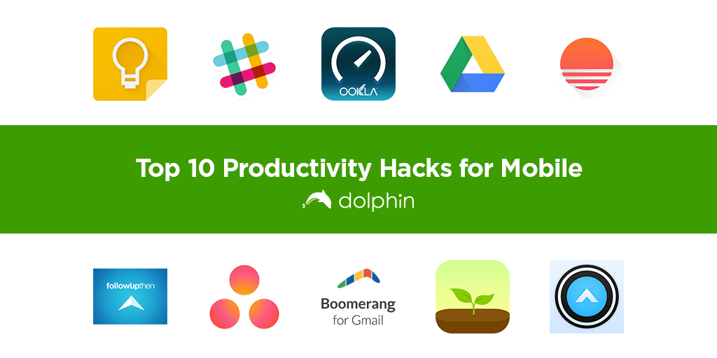 Check out these productivity apps to make your mobile life easier!