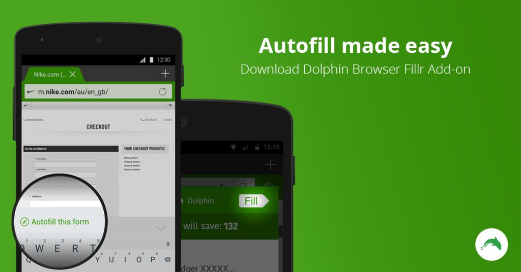 mobile browser auto-fill